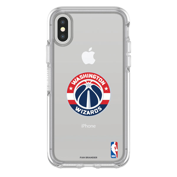 OtterBox clear Phone case with Washington Wizards Primary Logo