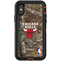 OtterBox RealTree Defender Series Phone case with Chicago Bulls Primary Logo