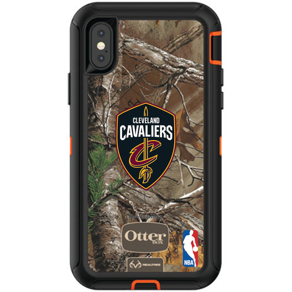 OtterBox RealTree Defender Series Phone case with Cleveland Cavaliers Primary Logo