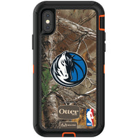 OtterBox RealTree Defender Series Phone case with Dallas Mavericks Primary Logo