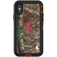 OtterBox RealTree Defender Series Phone case with Houston Rockets Primary Logo