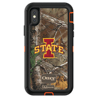 OtterBox RealTree Defender Series Phone case with Iowa State Cyclones Primary Logo