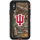 OtterBox RealTree Defender Series Phone case with Indiana Hoosiers Primary Logo