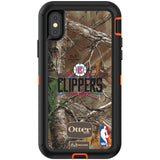 OtterBox RealTree Defender Series Phone case with LA Clippers Primary Logo