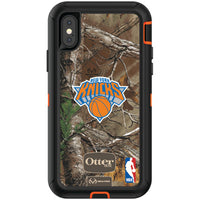OtterBox RealTree Defender Series Phone case with New York Knicks Primary Logo