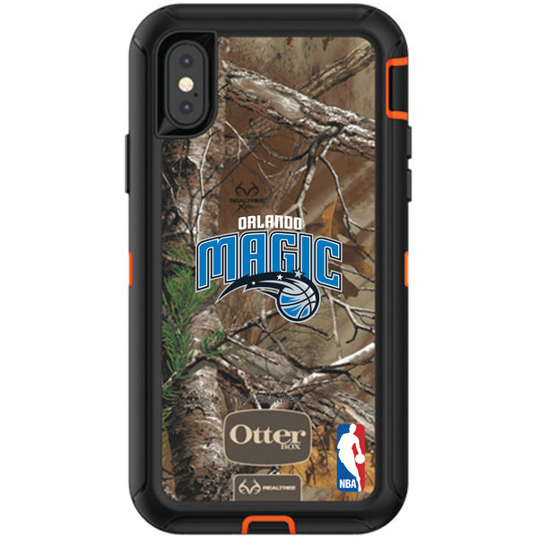 OtterBox RealTree Defender Series Phone case with Orlando Magic Primary Logo