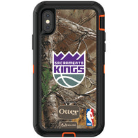 OtterBox RealTree Defender Series Phone case with Sacramento Kings Primary Logo