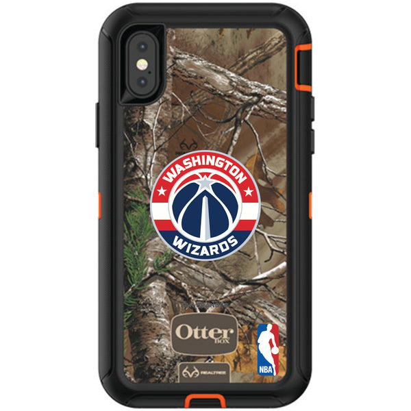 OtterBox RealTree Defender Series Phone case with Washington Wizards Primary Logo