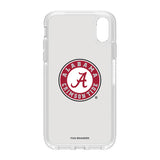 OtterBox clear Phone case with Alabama Crimson Tide Primary Logo