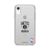 OtterBox clear Phone case with Brooklyn Nets Primary Logo