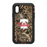 OtterBox RealTree Defender Series Phone case with Philadelphia Phillies Primary Logo