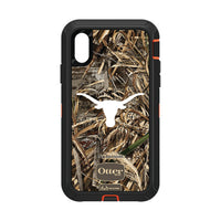 OtterBox RealTree Defender Series Phone case with Texas Longhorns  Primary Logo