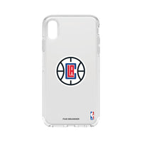 OtterBox clear Phone case with LA Clippers Primary Logo