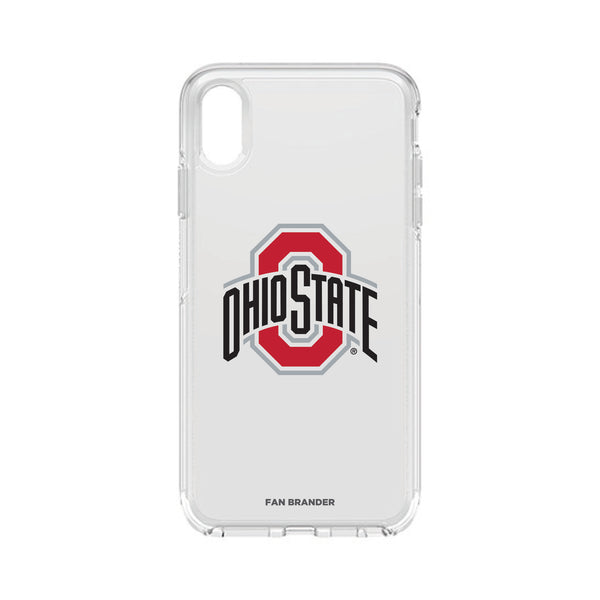 OtterBox Clear Symmetry case with Ohio State Buckeyes Primary Logo