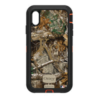 OtterBox RealTree Defender Series Phone case with Kansas City Royals Primary Logo