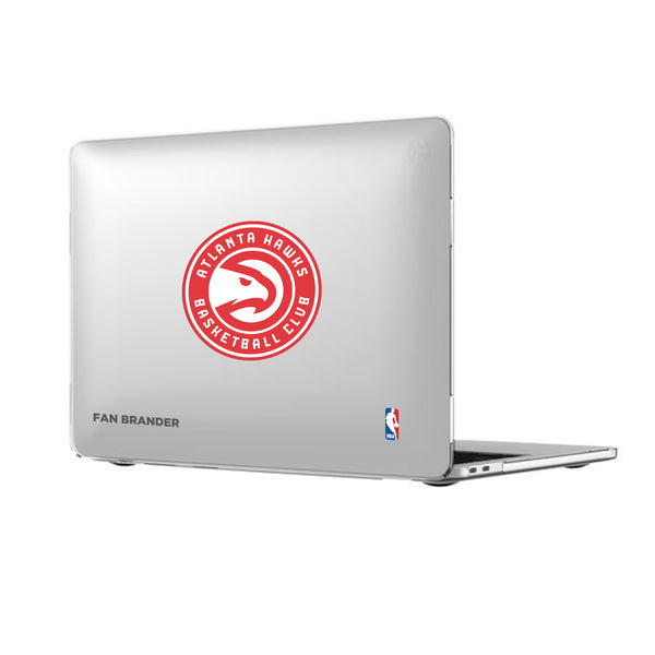 Speck Smartshell MacBook case with Atlanta Hawks Primary Logo