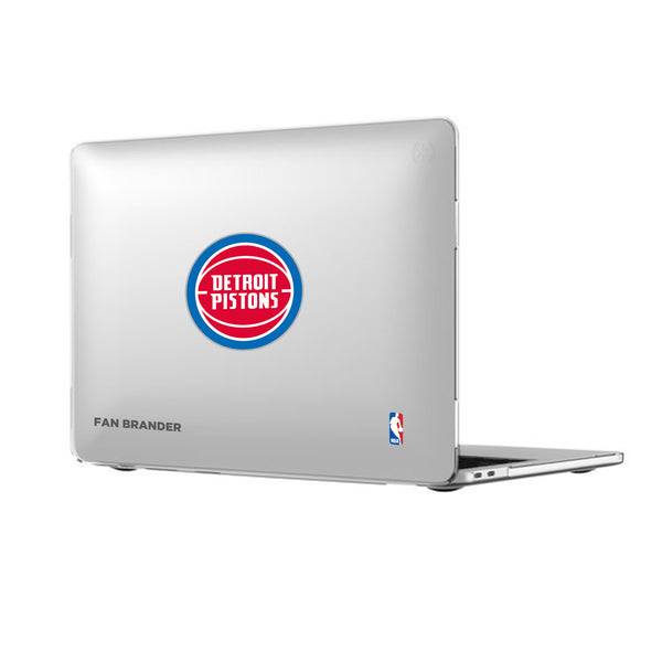 Speck Smartshell MacBook case with Detroit Pistons Primary Logo