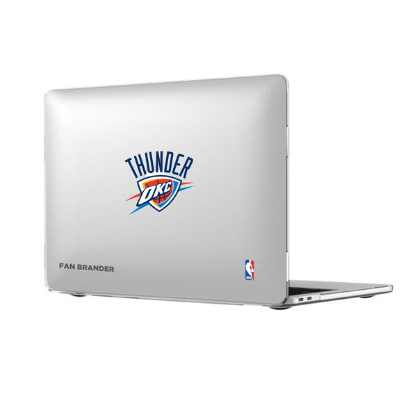 Speck Smartshell MacBook case with Oklahoma City Thunder Primary Logo