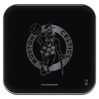Fan Brander Fast Charging Wireless Charger with Boston Celtics laser etched Primary Logo