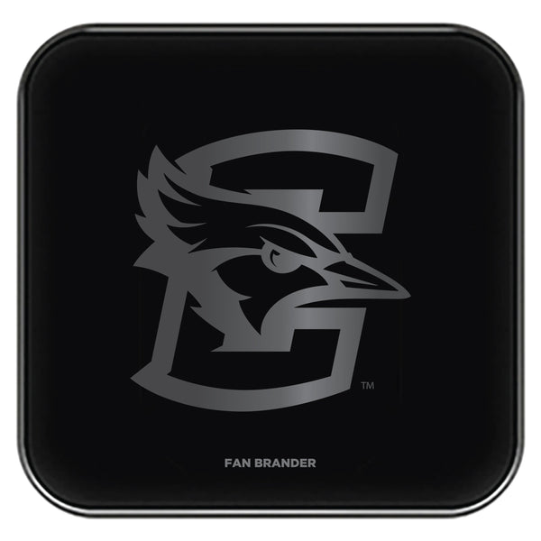Fan Brander Fast Charging Wireless Charger with Creighton University Bluejays laser etched Primary Logo