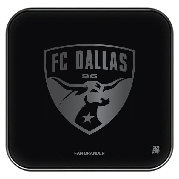 Fan Brander Fast Charging Wireless Charger with FC Dallas laser etched Primary Logo