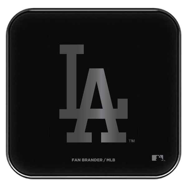 Fan Brander Fast Charging Wireless Charger with Los Angeles Dodgers laser etched Primary Logo