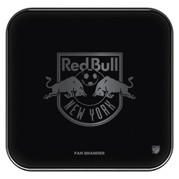 Fan Brander Fast Charging Wireless Charger with New York Red Bulls laser etched Primary Logo