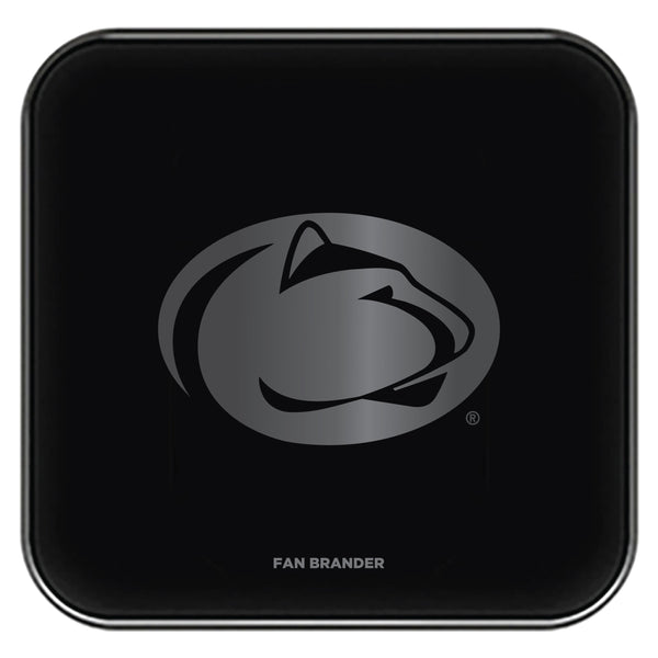 Fan Brander Fast Charging Wireless Charger with Penn State Nittany Lions laser etched Primary Logo