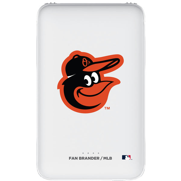 Fan Brander 10,000 mAh Portable Power Bank with Baltimore Orioles Primary Logo