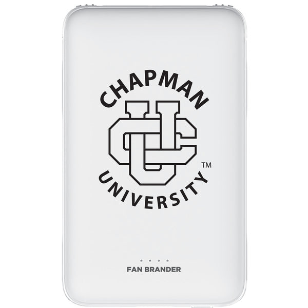 Fan Brander 10,000 mAh Portable Power Bank with Chapman Univ Panthers Primary Logo