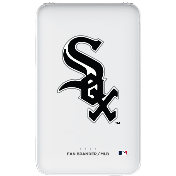 Fan Brander 10,000 mAh Portable Power Bank with Chicago White Sox Primary Logo