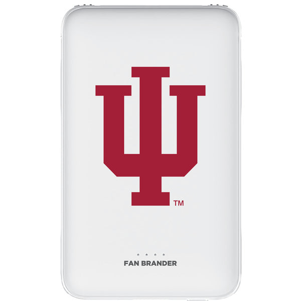Fan Brander 10,000 mAh Portable Power Bank with Indiana Hoosiers Primary Logo