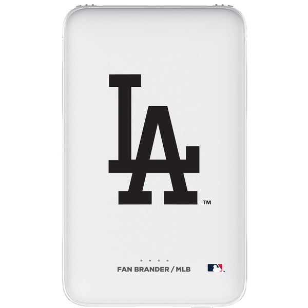 Fan Brander 10,000 mAh Portable Power Bank with Los Angeles Dodgers Primary Logo