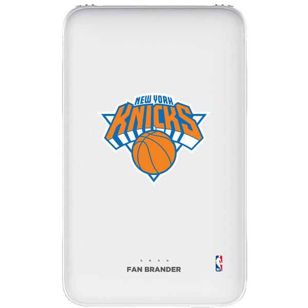Fan Brander 10,000 mAh Portable Power Bank with New York Knicks Primary Logo