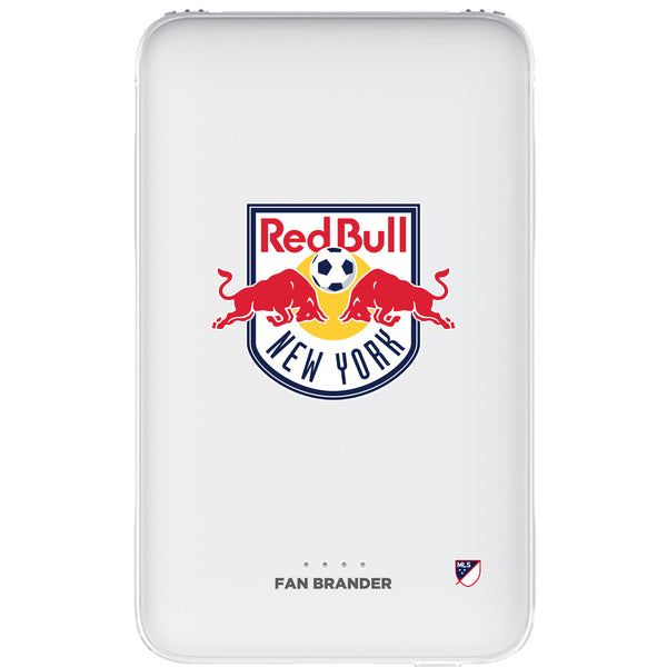 Fan Brander 10,000 mAh Portable Power Bank with New York Red Bulls Primary Logo