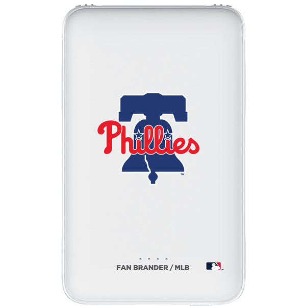 Fan Brander 10,000 mAh Portable Power Bank with Philadelphia Phillies Primary Logo