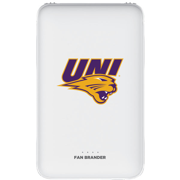 Fan Brander 10,000 mAh Portable Power Bank with Northern Iowa Panthers Primary Logo