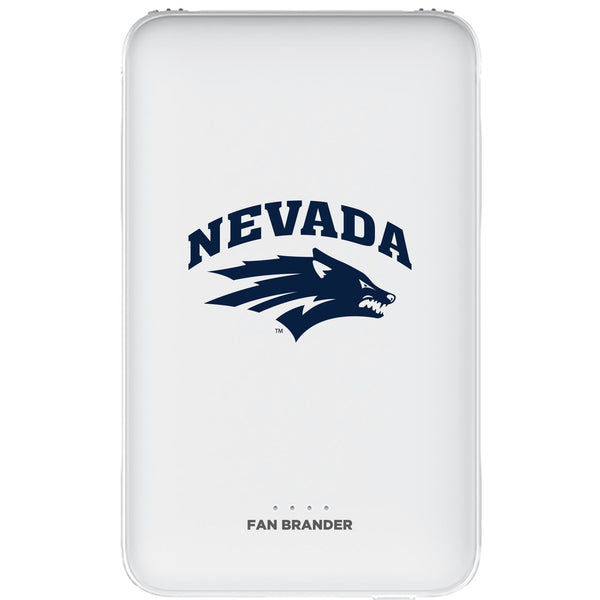 Fan Brander 10,000 mAh Portable Power Bank with Nevada Wolf Pack Primary Logo