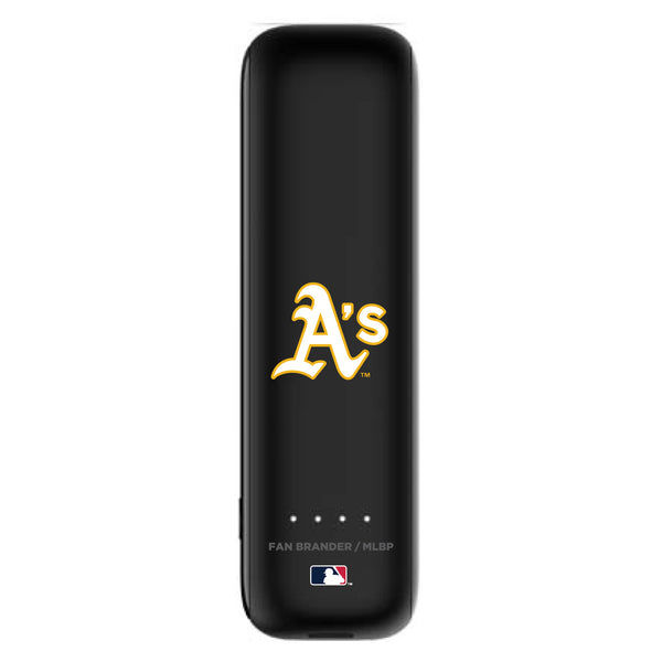 mophie Power Boost mini 2,600mAh portable battery with Oakland Athletics Primary Logo