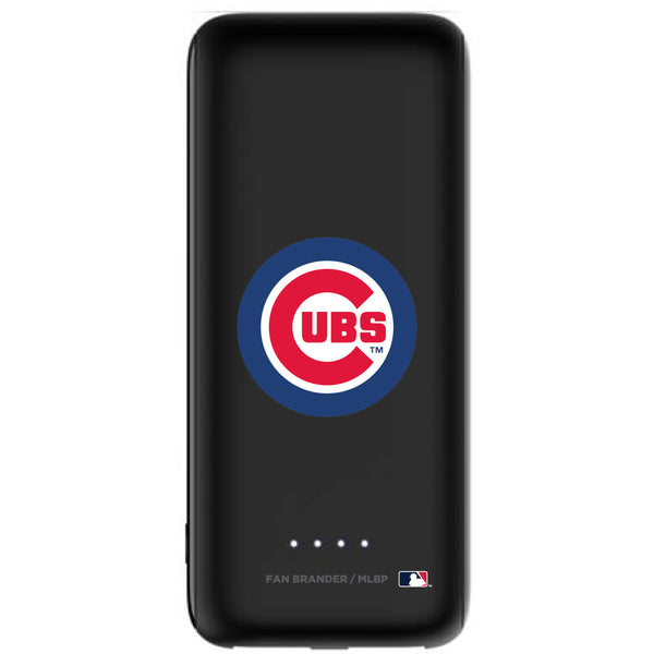 mophie Power Boost 5,200mAh portable battery with Chicago Cubs Primary Logo