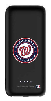 mophie Power Boost 5,200mAh portable battery with Washington Nationals Primary Logo