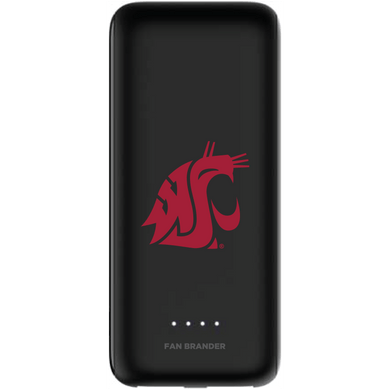 mophie Power Boost 5,200mAh portable battery with Washington State Cougars Primary Logo