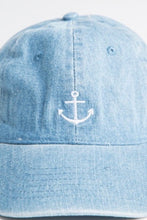 Load image into Gallery viewer, Anchor Denim Cap