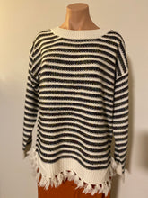 Load image into Gallery viewer, Athena Striped Sweater