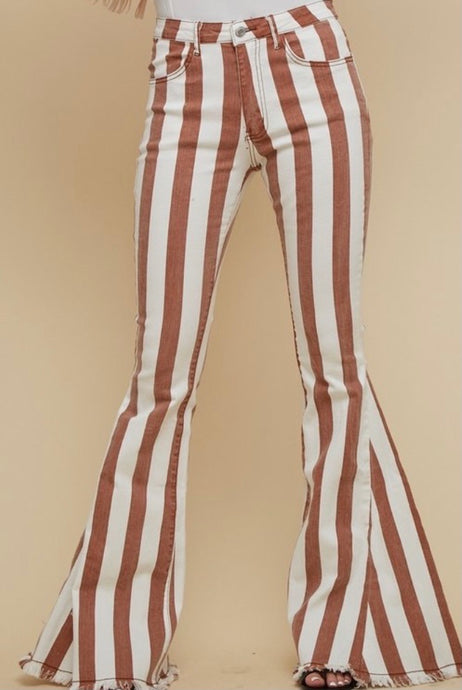 Kaila Striped Pants