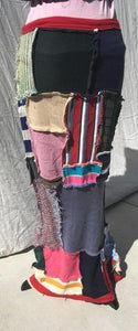 Long Skirt Patchwork - Multi Color