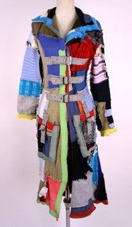 Long Coat Patchwork - Multi Color