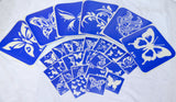 buy temporary tattoo stencils Kit #19 Butterflies -3