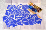 buy temporary tattoo stencils Kit #2 Henna