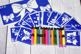 buy temporary tattoo stencils Kit #12 Variety